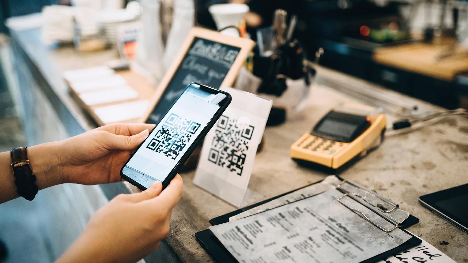 Меню ресторана через QR код – новое измерение онлайн-заказов